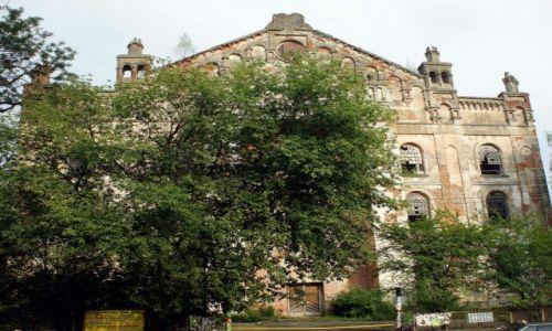 Zdjęcie UKRAINA / Aglomeracja Drohobycko-Borysławska / Drohobycz / Synagoga, w remoncie
