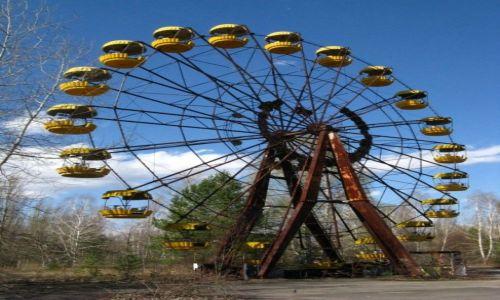 Zdjęcie UKRAINA / Zona Czarnobylska / Prypec / chakra