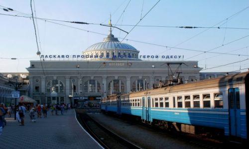 Zdjecie UKRAINA / Odessa, p�d. UA / dworzec / chyba trzeba zn