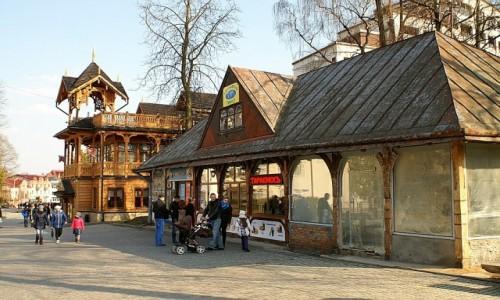 Zdjęcie UKRAINA / obwód lwowski / Truskawiec / przedwojenna architektura Truskawca