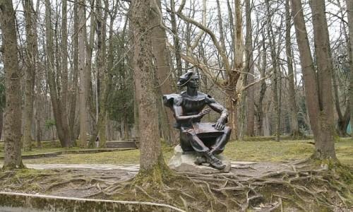 Zdjęcie UKRAINA / obwód lwowski / Truskawiec / park zdrojowy