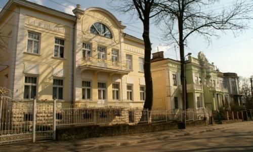 UKRAINA / obw�d lwowski / Drohobycz / przedwojenna architektura Drohobycza