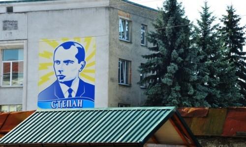 Zdjęcie UKRAINA / Obwód Lwowski / Żółkiew / ...Bandera