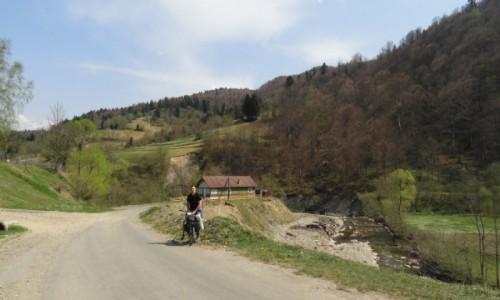 Zdjecie UKRAINA / Ukraina / Worohta / Ukraina rowerem