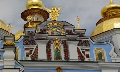 Zdjecie UKRAINA / Kijow / Kijow / Cerkiew