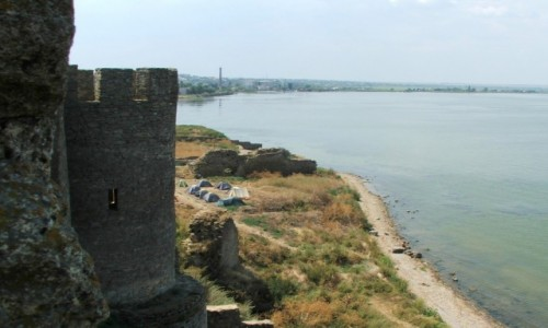 Zdjecie UKRAINA / Obwód odeski / Białogród nad Dniestrem (Akerman) / Widok z murów t