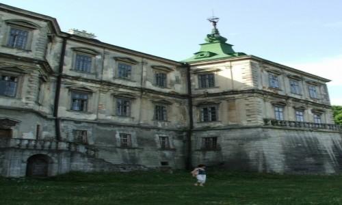 Zdjęcie UKRAINA / Obwód lwowski, rejon brodzki  / Podhorce / Zamek w Podhorcach