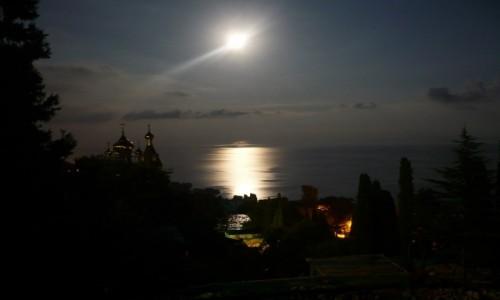 Zdjęcie UKRAINA / Krym / Ałupka / noc na Krymie