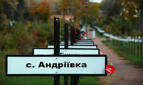 Zdjecie UKRAINA / odwód Kijowski / Czarnobyl / Czarnobylska Aleja Pamięci