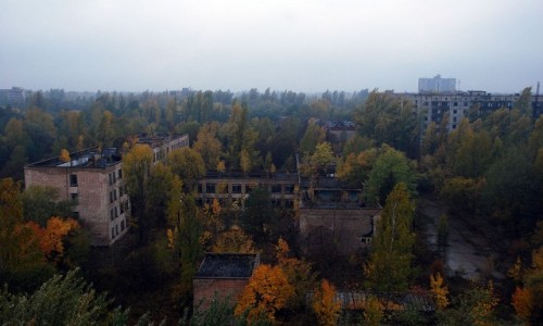 Zdjecie UKRAINA / obwód Kijowski / Prypeć / Prypeć - miasto duchów