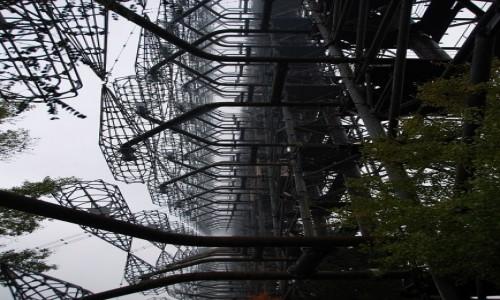 Zdjecie UKRAINA / obwód Kijowski / Czarnobyl-2 / DUGA - radziecki radar pozahoryzontalny