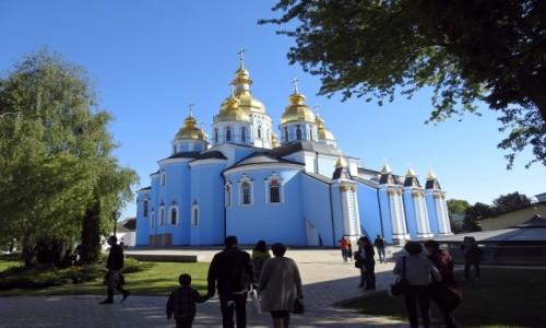 Zdjecie UKRAINA / Kijów / Kijów / Monaster św. Michała Archanioła