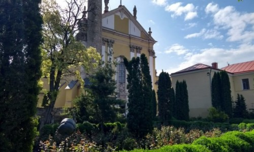 UKRAINA / - / Kamieniec Podolski / Katedra Rzymsko-Katolicka