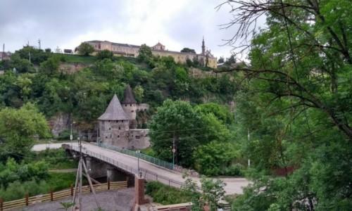 UKRAINA / - / Kamieniec Podolski / widok na katedre