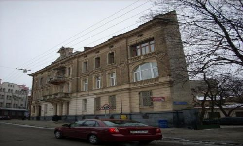 Zdjecie UKRAINA / Ukraina Zachodnia / Lwów / Ciekawy budynek