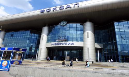 Zdjęcie UKRAINA / Kijów / Kijów / Dworzec