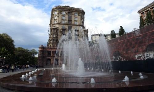 Zdjęcie UKRAINA / Kijów / Kijów / Chreszczatyk