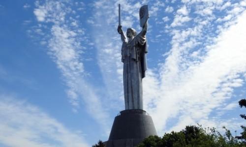 Zdjecie UKRAINA / Kijów / Kijów / Pomnik Matki Ojczyzny