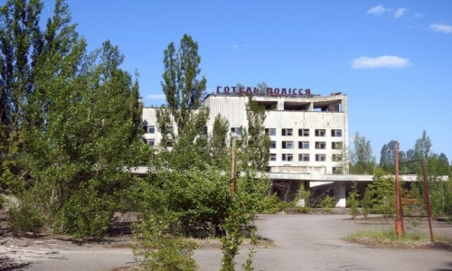 Zdjecie UKRAINA / Czarnobyl / Prypeć / Hotel