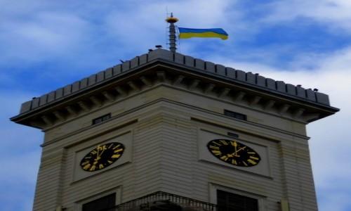 Zdjecie UKRAINA / - / Lwów / Która godzina?