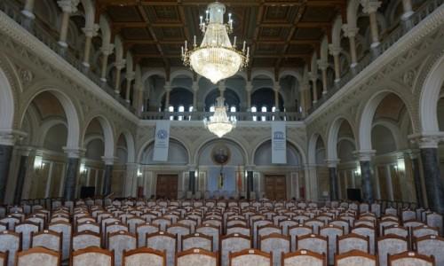 UKRAINA / Czerniowce / Uniwersytet / Aula