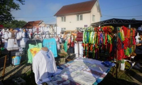 Zdjęcie UKRAINA / Obwód iwanofrankiwski / Kołomyja / Na bazarze
