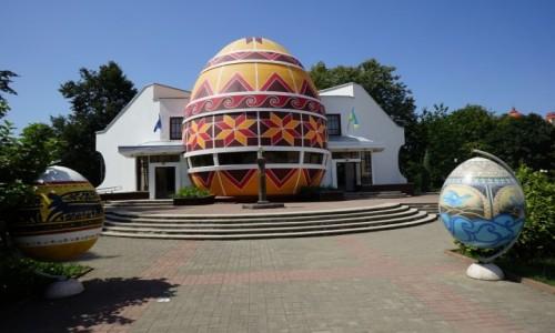 Zdjęcie UKRAINA / Obwód iwanofrankiwski / Kołomyja / Muzeum pisanek