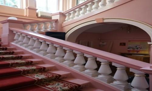 Zdjęcie UKRAINA / Czerniowce / Pałac ślubów / Schody