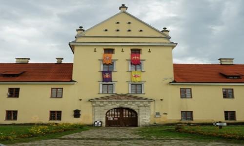 Zdjęcie UKRAINA / Obwód lwowski / Żółkiew / Zamek Sobieskich, brama