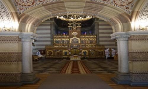 Zdjęcie UKRAINA / Czerniowce / Uniwersytet Narodowy im. Jurija Fedkowycza / Cerkiew seminaryjna, brama