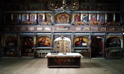 Zdjęcie UKRAINA / Drohobycz / Cerkiew św. Jerzego / Ołtarz