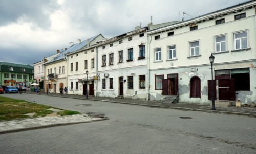 Zdjecie UKRAINA / Obwód Lwowski / Żółkiew / Kamieniczki
