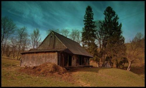 Zdjecie UKRAINA / Bieszczady Wschodnie / Wieś Bitlya / Ukraina - wieś