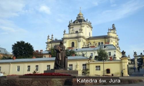 Zdjecie UKRAINA / Lwów / Lwów / Sobór św. Jura