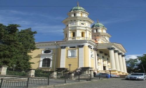 Zdjecie UKRAINA / Zakarpacie / Użhorod / Katedra greko-katolicka