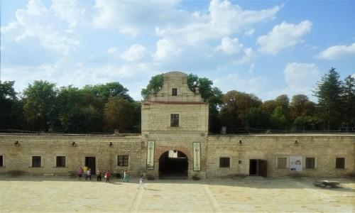 Zdjęcie UKRAINA / Obwód Tarnopolski / Zamek w Zbarażu / Brama