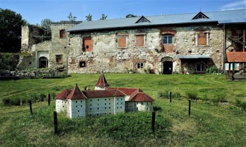 Zdjecie UKRAINA / Obwód Tarnopolski / Brzeżany / Ruiny i makieta zamku
