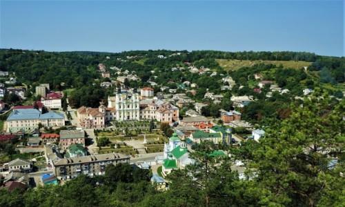 Zdjęcie UKRAINA / Obwód Tarnopolski / Góra królowej Bony / Panorama Krzemieńca