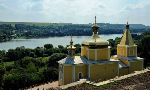Zdjęcie UKRAINA / Obwód Tarnopolski / Wiśniowiec / Cerkiew Wniebowstąpienia Pańskiego