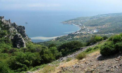Zdjecie UKRAINA / Krym / KRYM / krymskie wybrzeże