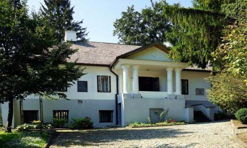 UKRAINA / Obwód Tarnopolski / Krzemieniec / Dom - muzeum Juliusza Słowackiego