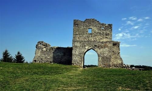 Zdjęcie UKRAINA / Obwód Tarnopolski / Krzemieniec / Ruiny zamku