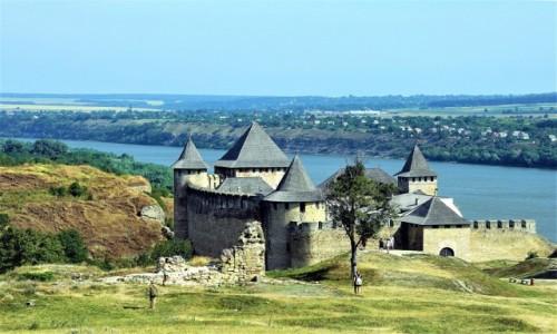 UKRAINA / Czerniowce  / Chocim  / W drodze na zamek
