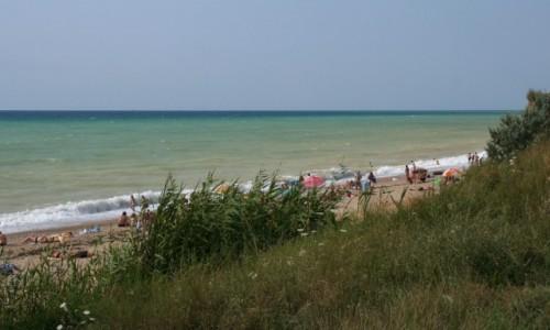 Zdjecie UKRAINA / Krym / Sewastopol / Plaża w dzielnicy Ljubimowka