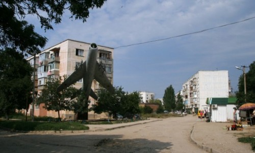 Zdjecie UKRAINA / Krym / Sewastopol / Osiedle garnizonowe Ljubimowka
