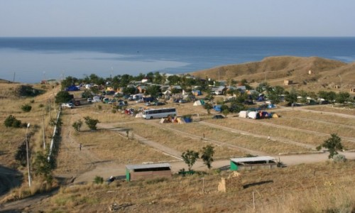 Zdjecie UKRAINA / Krym / Sudak / Autokemping