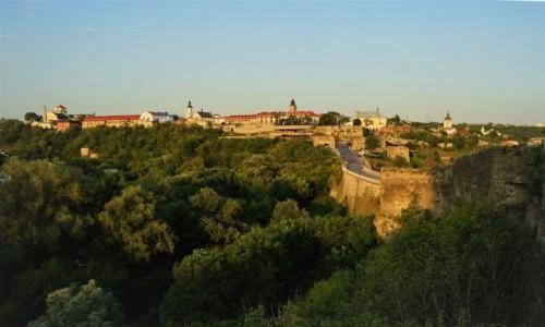 Zdjecie UKRAINA / Chmielnicki  / Kamieniec Podolski  / Widok z zamku