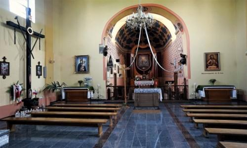 Zdjecie UKRAINA / Obwód Tarnopolski / Okopy Świętej Trójcy / Kościół św. Trójcy, wnętrze