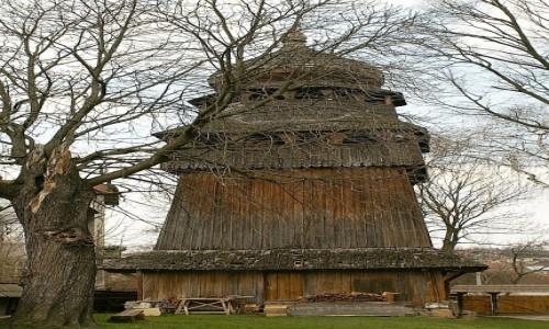 Zdjecie UKRAINA / Ukraina Zachodnia / Drohobycz / cerkiew pw. św Jerzego - dzwonnica