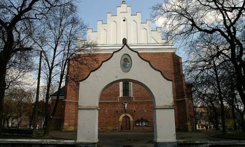 Zdjecie UKRAINA / Ukraina Zachodnia / Drohobycz / kościół Wniebowzięcia NMP Krzyża Świętego i św. Bartłomieja